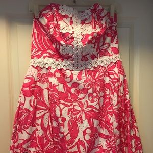 Lilly Pulitzer lobster print dress